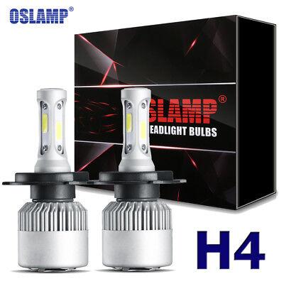 Oslamp H4 9003 900W COB LED Headlight Hi/Lo Beam Bulbs Kit 6000K HID Replacement