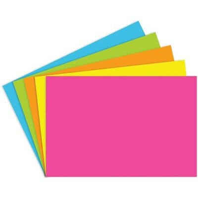 Unruled Bright Index Cards By Top Notch Teacher - 4x6 - 4x6 Unruled Bright