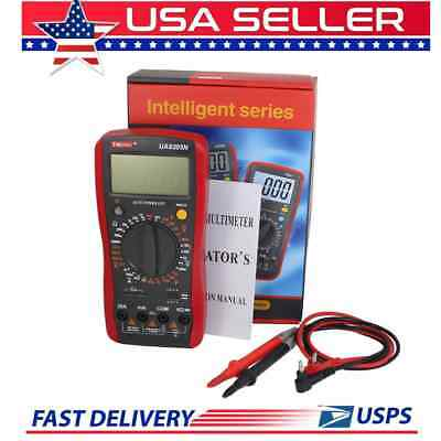 Digital Multimeter Volts Capacitance Ammeter 30 Range Auto Power Off Ua9205n 3