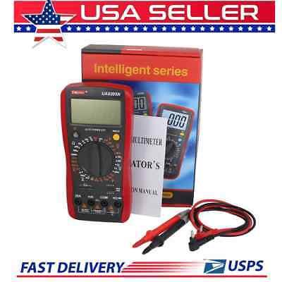 Digital Multimeter 30 Ranges Auto Power Volts Capacitance Amps Ohms Ua9205n 3