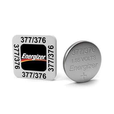 5 x Energizer 377 376 Silver Oxide SR626SW SR626 1.55V Watch Battery 377 Silver Oxide Watch Battery