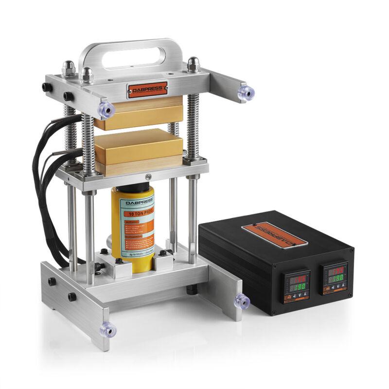 10 Ton Small Hydraulic Rosin Press   Dabpress Portable 3x5 Rosin Tech Press Kit