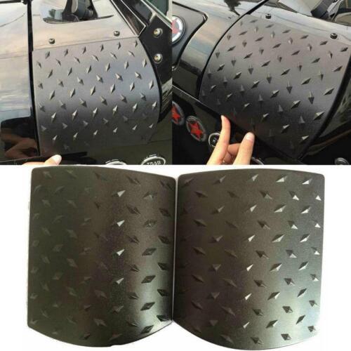 2x Body Armor Diamond Plate Side Cowl Cover Trim For 2007-2016 Jeep JK Wrangler