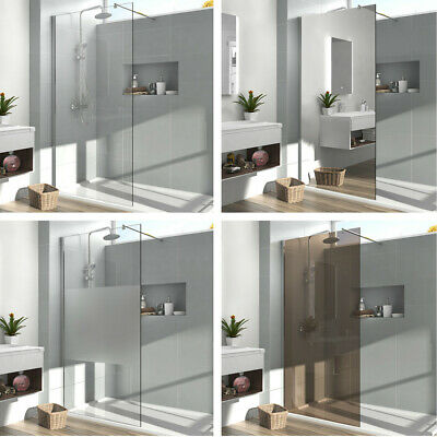 Walk In Duschabtrennung Dusche Duschkabine Duschtrennwand 8mm NANO ESG