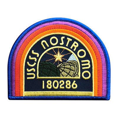 ALIEN Movie USCSS Nostromo Crew Cap IRON ON PATCH (bn1a)