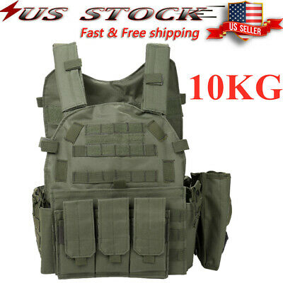 Adjustable Workout Weight 22lb Weighted Vest Exercise Strength Training Gear USA