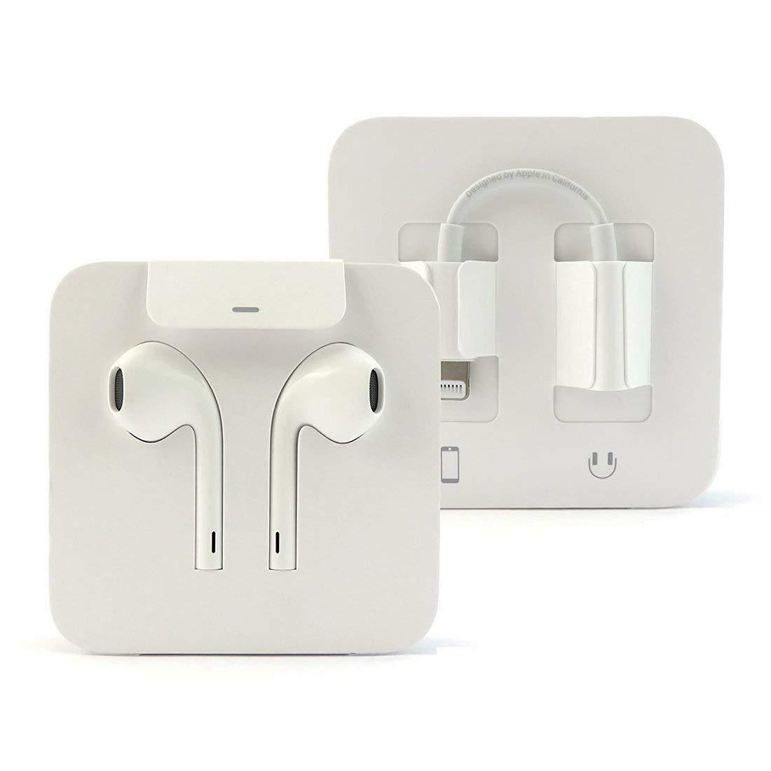 NEW Apple EarPods Headset for iPhone 7 8 X  Lightning Connec