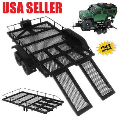 Trailer Car Heavy-Duty Cargo Carrier Metal Kit for 1:10 Trax