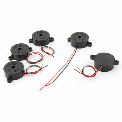 5pcs DC 12V cables de alambre Industrial de Audio electrónico zumbador de...