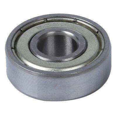 2 Pcs Single Shielded 608z Miniature Deep Groove Ball Bearings B3