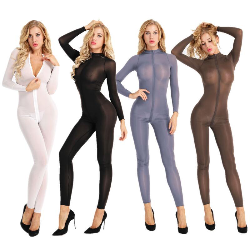 Neutral Micro Mesh Sleeveless Body Stocking BodySuit Leotard for dance