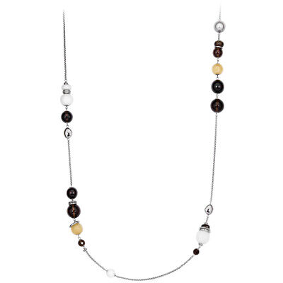 Fossil Ebony Multi-Color 38 inches Necklace JF85350040