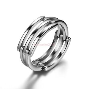 silver stainless steel infinity symbol promise ring