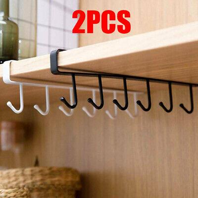 Wall Mount Pot And Pan Rack Hanger Hanging Kitchen Storage Organizer Holder