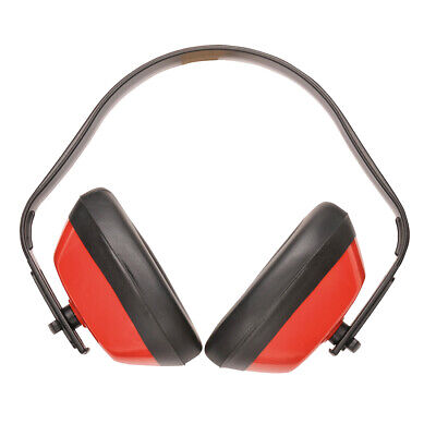Portwest Pw40 Classic Everyday Lightweight Safety Work Ear Protector Muffs Ansi