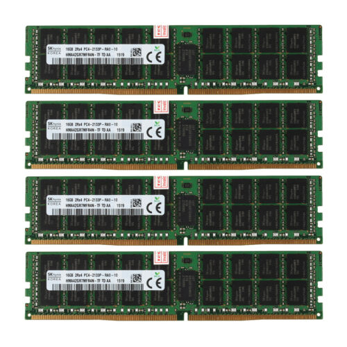 Samsung 16GB 2Rx4 PC4-2133P-R PC4-17000R DDR4 288PIN RDIMM REG ECC Server Memory