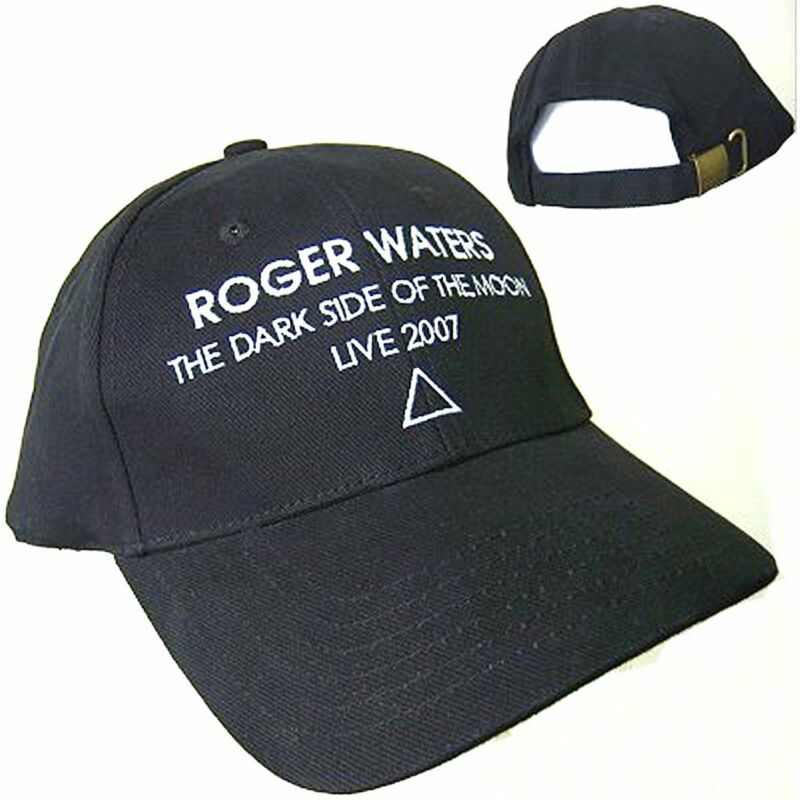 Roger Waters Dark Side Of Moon Live 2007 Tour Baseball Hat Cap New NOS