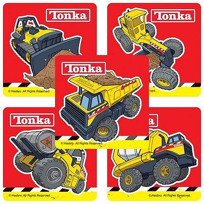 Tonka Truck Birthday (25 Tonka Truck Stickers, 2.5