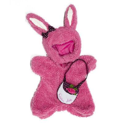 Rubens Barn Puppen Kleidung Outfit Kostüm rosa Hase Bunny für Ark und Kids