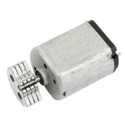 Dc1.5v-9v 0.08a 3200rpm Output Speed Micro Vibrating Motor 18x15x12mm Silver Lw