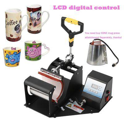Transfer Sublimation Cup Coffee Mug Heat Press Printing Machine Digital V3.0 Lcd
