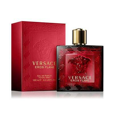 Versace Eros Flame 3.4 Oz 100 Ml Eau De Parfum Men's Spray
