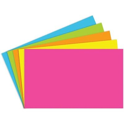 Unruled Bright Index Cards By Top Notch Teacher - 3x5 - 3x5 Unruled Bright