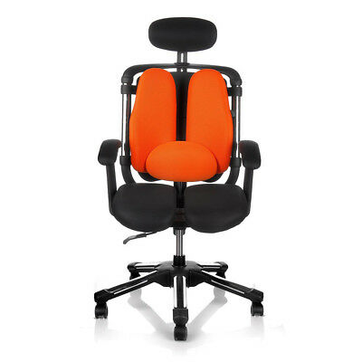 New Hara Chair Twin Based Computer Desk Executive Functional Office Chair ()