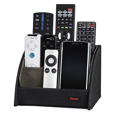 Remote Control Rack Step Box Storage Organiser Stand Holder VCR DVD TV - NEW ()