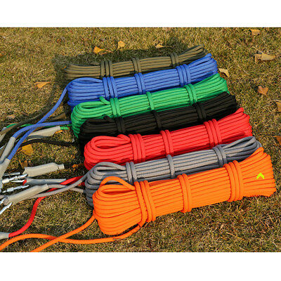 Professional Safety Rock Climbing Cord Outdoor Hiking Accessories Rope 9.5mm 20M ()