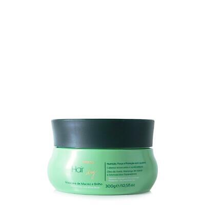 Amend Hair Dry Mascarilla Suavidad y Brillo Con Aceite de Avellana y...