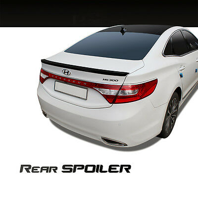 New Rear Trunk Wing Lip Spoiler Painted for Hyundai Azera 2012 - 2017