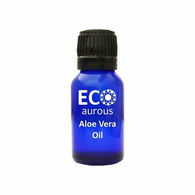 Aloe Vera Oil Natural Organic Pure Vegan Oil for skin and Hair by Eco Aurous - Aloe Vera Essential Oil