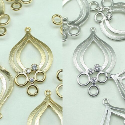 Tree Metal Beads Pendants Gold Silver beads for Jewelry Making Supplies #241