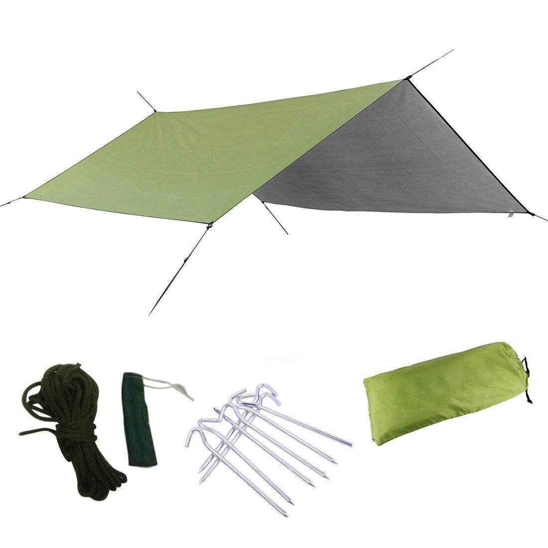 Portable Camping Tent Tarp Shelter Mat