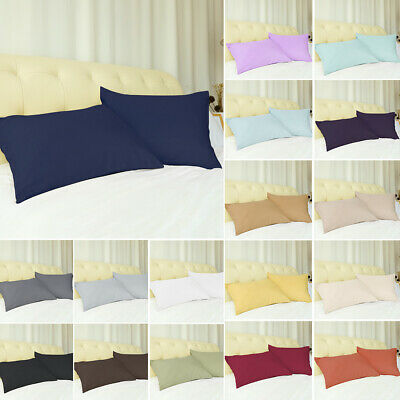 Pillowcases Soft 100% Brushed Microfiber Pillow Case Cover w