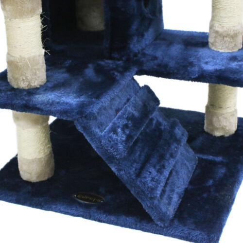 Cat Activity Tree Condo Furniture Scratching Post Climber Kitten Toy Play House