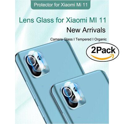 [2 Pezzi] Pellicola Vetro Temperato per Fotocamera Protezione per Xiaomi Mi 11