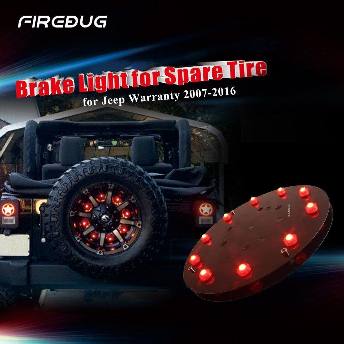 Firebug Jeep Wrangler 3rd Brake Light Jeep Wrangler