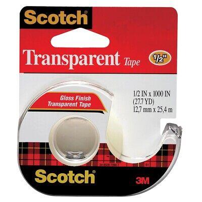 Scotch 600 Transparent Tape Dispenser