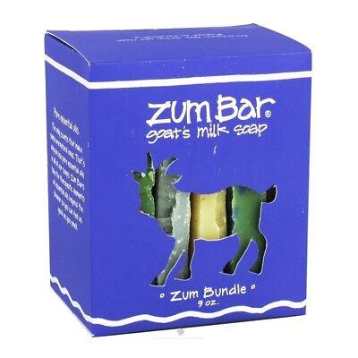 Zum Soap Bar Bundle Boxed Gift Set Indigo Wild NEW natural sample organic clean Gift Set Soap