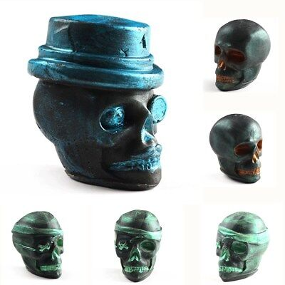Halloween Skull 3D Silicone Soap Mold Form for DIY Craft Candle Soap Making - Halloween Soap Making