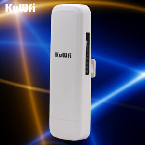 US STOCK 3KM Wifi Range Wireless Router Outdoor Waterproof CPE Router&Repeater