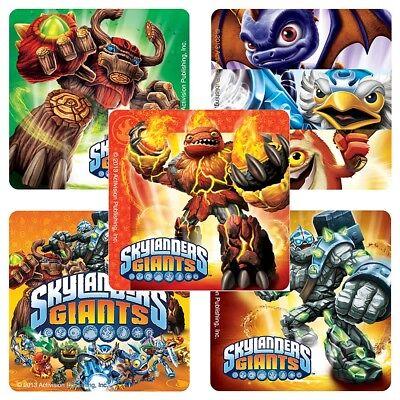 15 Skylanders Giants Team  Stickers Party Favor Teacher Supply  - Skylander Stickers