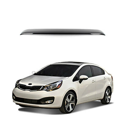 New Rear Roof Vent Rain Guard Spoiler Visor Deflector for Kia Rio 12-18
