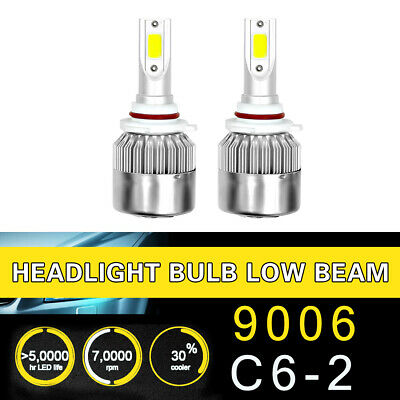1Pair 9006 Headlight Coversion LED Bulb Kit Low Beam for 1997 Oldsmobile -