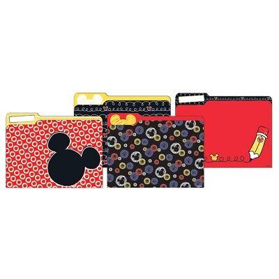 Mickey Color Pop File Folders By Eureka