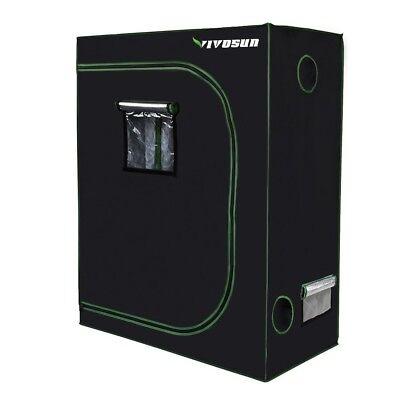 "beginners Grow Weed VIVOSUN 48""x24""x60"" Mylar Hydroponic Grow Tent Top Quality"