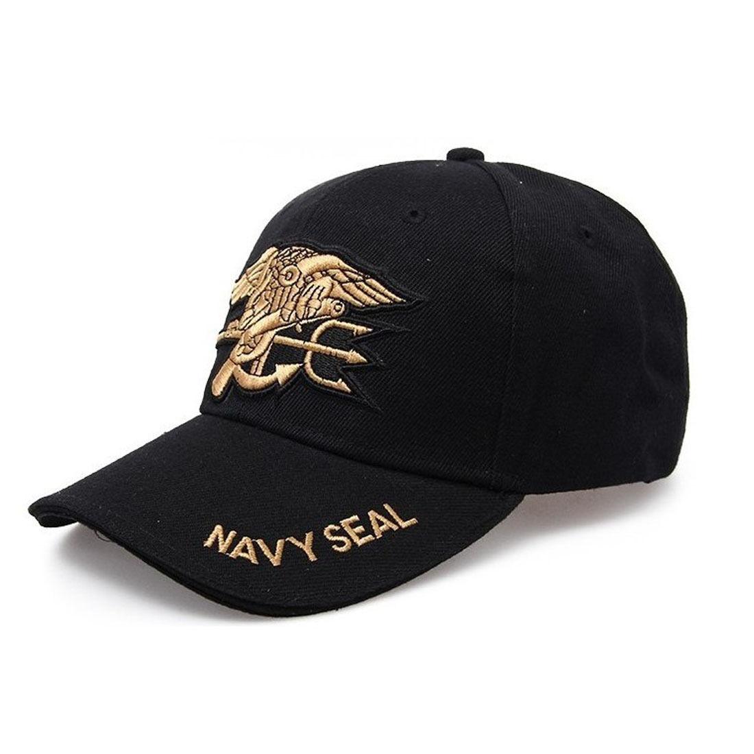Black Outdoor Sport Tactical Military Hunting Navy Seal Baseball Cap Hat