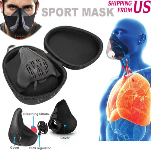 High Altitude Workout Exercise Mask for Running Fitness Cardio weightlifting
